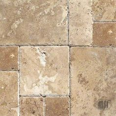 Tuscany Chateaux travertine tile by MSI Stone. - patio Love Travertine, its so natural Patio Tiles, Outdoor Tiles, Patio Flooring, Kitchen Flooring, Patio Slabs, Pool Tiles, Flooring Tiles, Kitchen Backsplash, Style Toscan