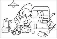 Thema boeken White Things the white color series Colouring Pages, Coloring Sheets, Painting People, Classroom Crafts, Book Reader, Lent, Coloring For Kids, Colorful Pictures, Paint Colors
