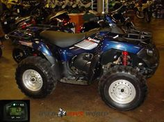 Get best deal on this 2008 Kawasaki Brute force 750 Work Utility #ATV. It's an ultimate 4x4 performance king now fuel injected and even better. It's available with awe-inspiring V-twin engine gaining a digital fuel injection system and the chassis receiving a host of updates in the suspension and comfort departments by Romney Cycle Center for $4995 in Romney, WV, USA at UsedATVsWorld.Com