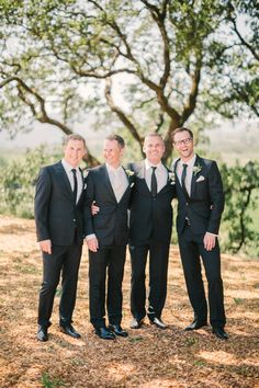 classic groomsman looks http://www.weddingchicks.com/2013/11/26/winery-destination-wedding/