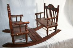 Vintage Baby Doll Seesaw Chair by ALittleBitofAustin on Etsy, $50.00