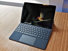 The Surface Go is the ultimate tablet that's also a pretty good laptop when required. Here's our recommendations for best Surface Go accessories that you should definitely be checking out if you haven't already. Best Computer, Computer Setup, Computer Bags, Computer Technology, Laptops For Sale, Best Laptops, Macbook Pro Keyboard, Free Iphone Giveaway, Laptop Screen Repair