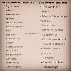 It's True! Empowered empath is a beautiful thing<< totally true, but how do I become empowered. Highly Sensitive Person, Sensitive People, Oil Cleansing, Empath Abilities, Psychic Abilities, Intuitive Empath, Empath Traits, Reiki, Psychic Development