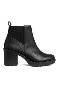 Stivaletti alla caviglia - Nero - DONNA | H&M IT 1