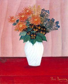Henri Rousseau (`Le Douanier'), 'Bouquet of Flowers' c.1909–10