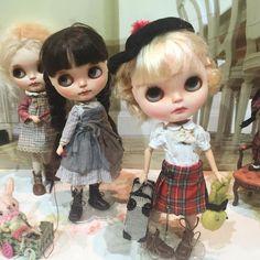 Custom Blythe Dolls sweet as sugar, made with love - http://mapoupeecherie.com