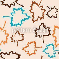 Hoch-qualitative Vektor Muster Designs auf patterndesigns.com - , designed by Birgit Schlegel Herbstmuster