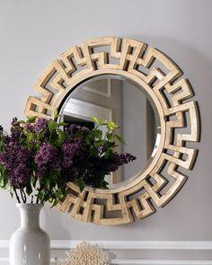 9 Wondrous Unique Ideas: Wall Mirror Diy Curtains gallery wall mirror tips.Gallery Wall Mirror Tips. Black Wall Mirror, Round Wall Mirror, Diy Mirror, Dresser With Mirror, Mirror Ideas, Mirror Art, Large Mirrors, Mirror Shelves, Window Shelves