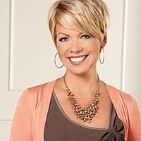 hsn host with short blonde hair - Google Search