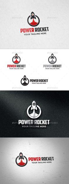 Power Rocket - Logo Templates