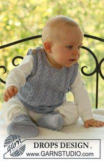 Free Knit Pattern: Baby Vest
