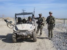 Lightweight Tactical All Terrain Vehicles (LTATVs) are small, side-by-side vehicles in use by American Special Operations Forces, including those operating in Afghanistan.