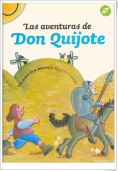 """Día Mundial del Libro (23 de abril): """"Las aventuras de Don Quijote"""" (Adaptación infantil)"""