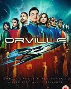 The Orville: Season 1 - Region 2 - DVD wholesale Seth Macfarlane, Sci Fi Tv Shows, Tv Series To Watch, Great Tv Shows, Best Tv, Season 1, Favorite Tv Shows, Movie Tv, Cool Things To Buy