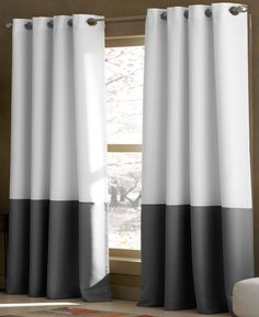 """CHF Window Treatments, Kendall 52"""" x 84"""" Panel - Fashion Window Treatments - for the home - Macy's"""