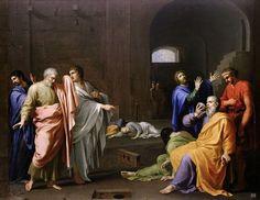 Death of Socrates. 1650. Charles Alphonse Du Fresnoy. French. 1611-1784. oil on canvas.