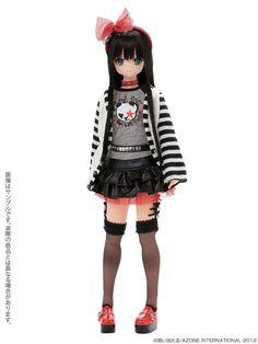 Azone Pure Neemo Excute Sahras A La Mode Rock'N Girl Yuzuha 1 6 Fashion Doll | eBay