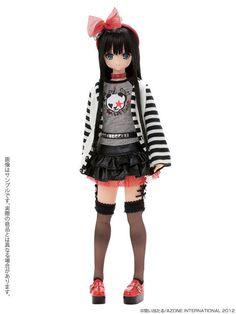 Azone Pure Neemo Excute Sahras A La Mode Rock'N Girl Yuzuha 1 6 Fashion Doll | eBay