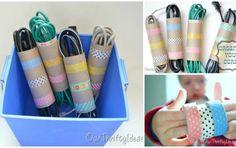 Dale otro uso a los rollos de papel y organiza tu casa http://mjrspm.mx/1biqgZI