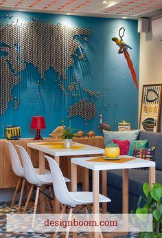 Decorating with Maps and Globes  #thefamilymark www.thefamilymark.com