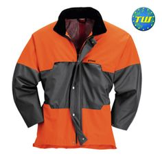 Stihl Advance Wet Weather Jacket 00008855452 is workwear designed for wet, outdoor working conditions. It is fabricated from polyurethene-coated nylon. http://www.twwholesale.co.uk/product.php/section/10262/sn/Stihl-00008855452