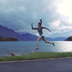 Today is the big day! I'm so excited to participate in the #queenstownmarathon 10k with runners from all around the world! @airnz @airnzusa :@allirosespeed