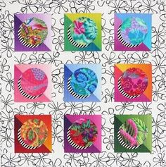 Image result for circle quilt patterns