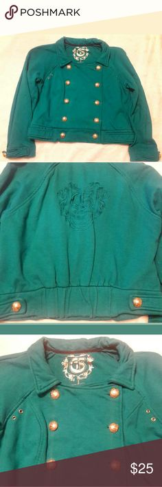 G by Guess pea coat Nearly New G by Guess pea coat Green size Large Guess Jackets & Coats