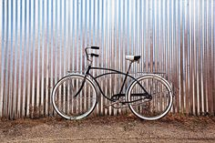 """Typhoon by Todd Van Fleet  - No bike should spend its life on the sidewalk. That's why Todd Van Fleet rescues bikes, """"Snapping the shutter is the easy part. Finding the bikes is where the real adventure begins."""" Toddrescues old cruiser bikes from the corners of barns, sheds, and attics; then straps them to his back and hikes to far-flung, lonely landscapes giving each bike a story in a photo.Todd's ...Click any image and read more and see more. Tags: bike,bikes,cycling,bicycling,riding,"""
