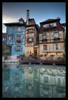 """colmar, france - the """"Big"""" City when I was Exchangestudent 1990/91"""