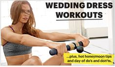 bridal bootcamp! the perfect workout for each dress style.