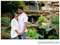 Duke Gardens Engagement Session | Melvin + Dawn