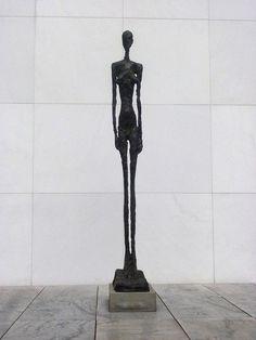 Alberto Giacommetti's Grande Femme Debout II (Robinson 14).