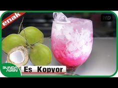 Cara Membuat Es Kopyor - Resep Minuman Es Segar - Kuliner Indonesia - Bunda Airin - YouTube