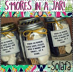 """""""S'MORES iN A JAR!"""" by totally-tipsy-girls ❤ liked on Polyvore"""