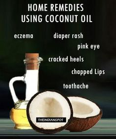 Natural Remedy For Pink Eye Coconut Oil