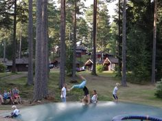 Isaberg Mountain Resort in Småland. We'll go here on vacation this year.