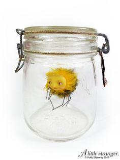 Bee girl in a jar by A little Stranger