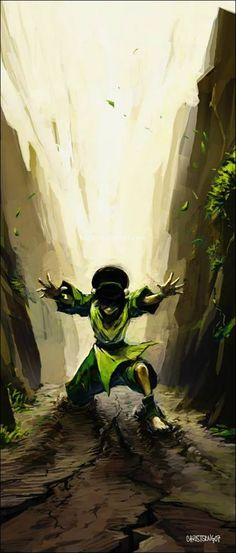 avatar le dernier maitre de l air : Toph