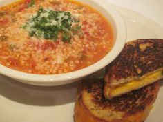 Pastini Soup Recipe  4 cloves garlic 2 tbs olive oil 4 cans diced tomatoes 2 tbs Italian seasoning 1/2 tsp red crush pepper 1 tsp onion powder salt and pepper to taste 1/2 tsp garlic salt Acini de pepe pasta water ( I fill a med/lg stockpot half full) parmesan cheese for topping   Read more: http://cookeatshare.com/recipes/pastini-soup-615525#ixzz35mr84dVb