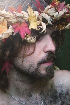 #autumn #greenman
