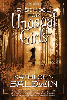 #CoverReveal A School for Unusual Girls (Stranje House, #1) by Kathleen Baldwin