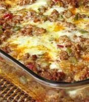 Chorizo Breakfast Casserole | Greenbrier Farms. Getting ready for Christmas breakfast 2013