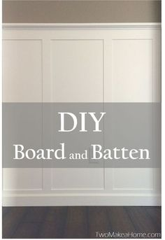 Home Remodeling Diy We just finished a DIY board and batten project in our front entry. Read all about how we did it right here! - We just finished a DIY board and batten project in our front entry. Read all about how we did it right here! Home Renovation, Home Remodeling, Board And Batten, Foyer Decorating, Narrow Hallway Decorating, Decorating Ideas, My New Room, Home Projects, Family Room