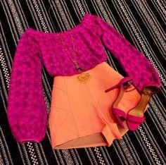 Blusa ciganinha pink