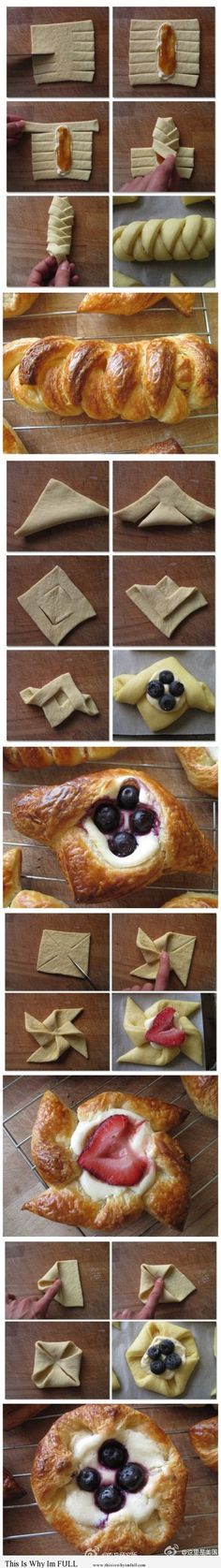 Fancy Danish (Step by Step) for brunch ideas!