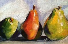 """Daily Paintworks - """"a friend of a friend"""" - Original Fine Art for Sale - © Kim Smith"""