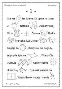 Znalezione obrazy dla zapytania KARTA PRACY KLASA I PRZELICZANIE WYRAZÓW W ZDANIU - #karta #klasa #obrazy #pracy #zapytania #znalezione - #Genel Learn Polish, Polish Language, School Worksheets, Teaching Activities, Pre School, Kids Playing, Letters, Education, Learning