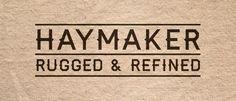 Free fonts Haymaker