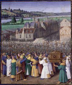 Jean Fouquet: The Conquest of Jericho